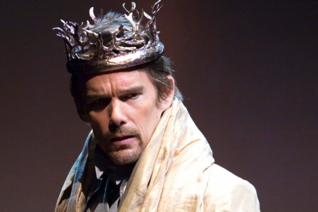 Ethan Hawke in the troubled Macbeth at Lincoln Center (NY Post image)