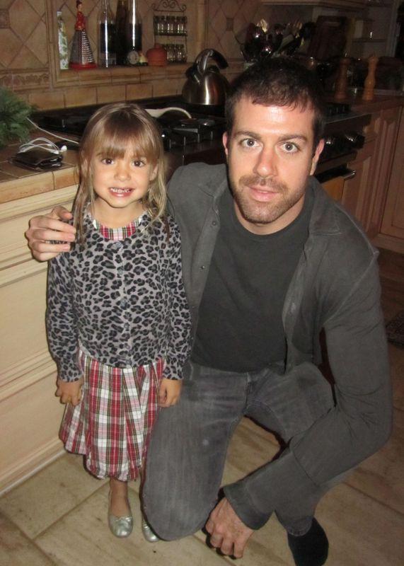 Taylor and Viv on Christmas Eve