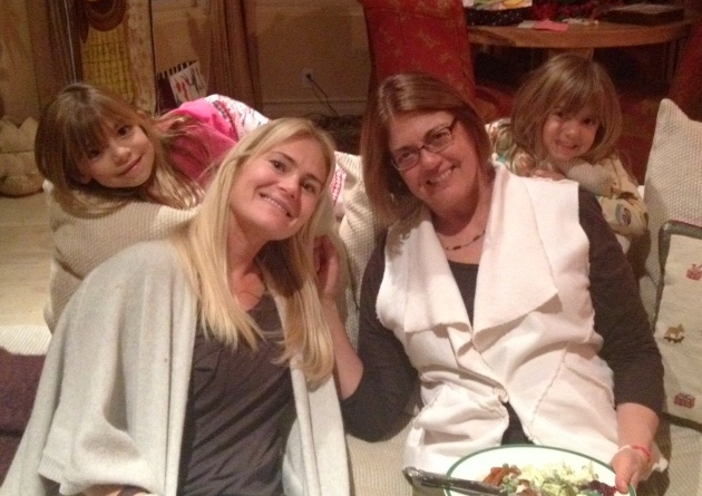 Gail, Tina, Evie and Viv
