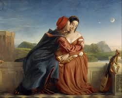 Francesca da Rimini and her lover Paolo as depicted by painter William Dyce (wikipedia image)