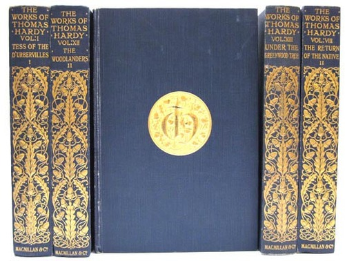 I'm angling for a beautiful copy of Tess of the D'urbervilles. Hint, hint! (image from www.harringtonbooks.uk)