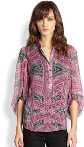 At almost $300, I don't think this Diane von Furstenberg blouse is a good investment.