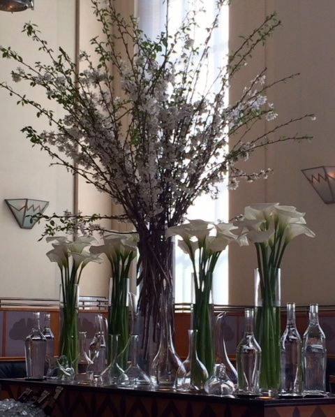 Spring centerpiece at Eleven Madison Park