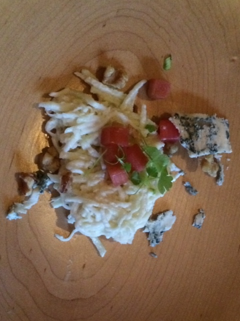 Yes, it was the best Waldorf Salad ever!