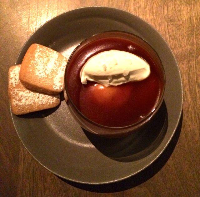 I am powerless to resist: Nougatine's butterscotch pudding.