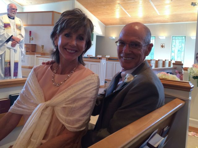Parents of the bride, all smiles!