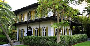Ernest Hemingway's home in Key West (image from hemingwayhome.com)
