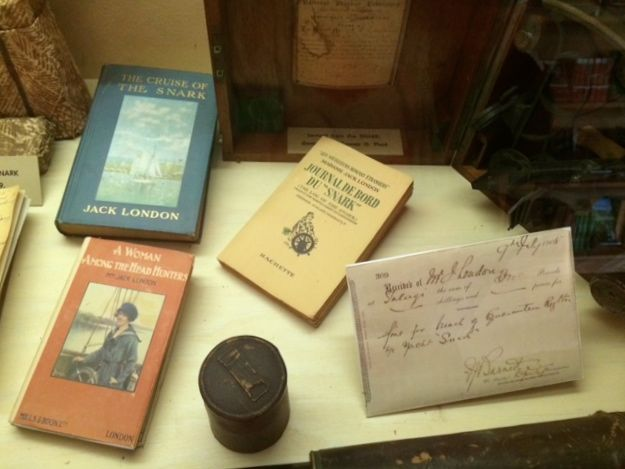 The museum is filled with London's books and mementos from his travels.