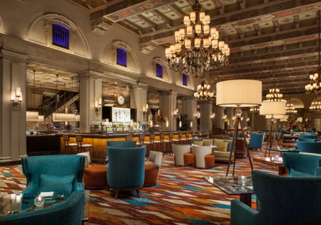 The HMF lounge at The Breakers (image from prevueonline.net)