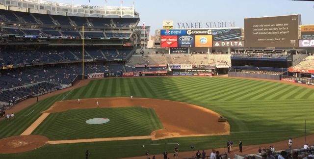 Happiest place in the Bronx: Yankee Stadium