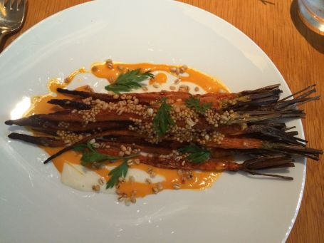 These roasted carrots at The Modern Bar Room might be the most heavenly vegetables I've ever tasted.