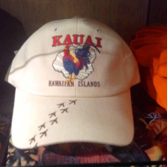 I couldn't persuade the CE to buy this hat. Maybe on a return trip...