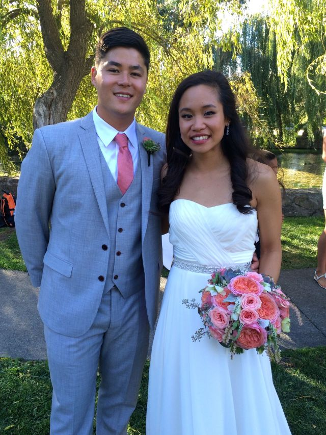 Congratulations, Ming and Easton!