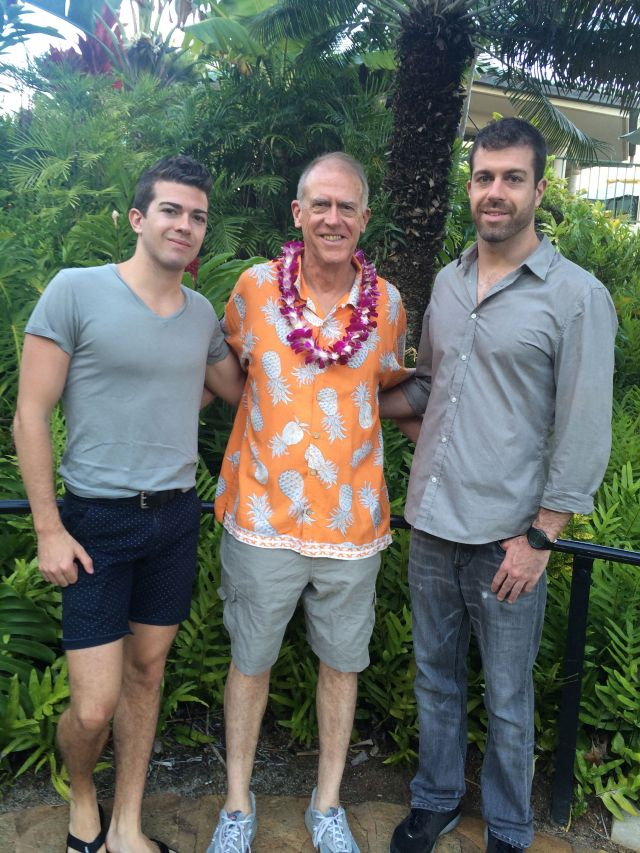 The one thing I don't miss about Hawaii is that orange pineapple shirt!