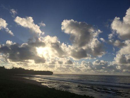 beautiful Poipu sunrise