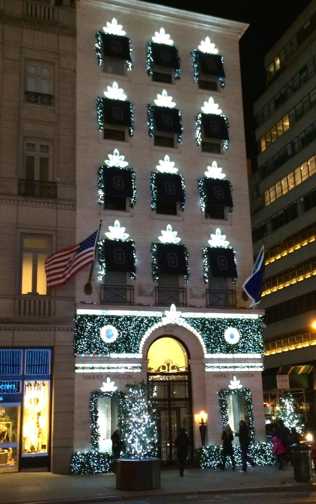 Harry Winston on Fifth Avenue