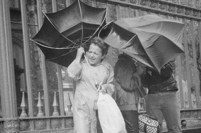 You can carry an umbrella in NYC - or maybe it will carry you. (image from kmuw.org)