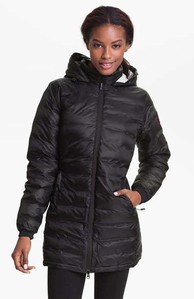 The Canada Goose camp coat retails for $545.