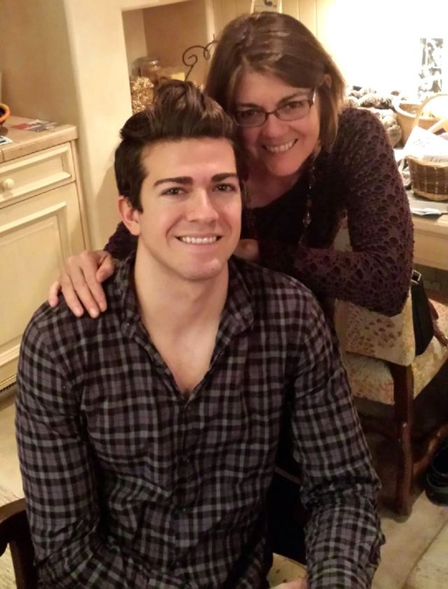 Daniel and Auntie Gail