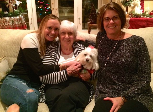Angie, Granny, Gail and The Tart celebrate Christmas Day.