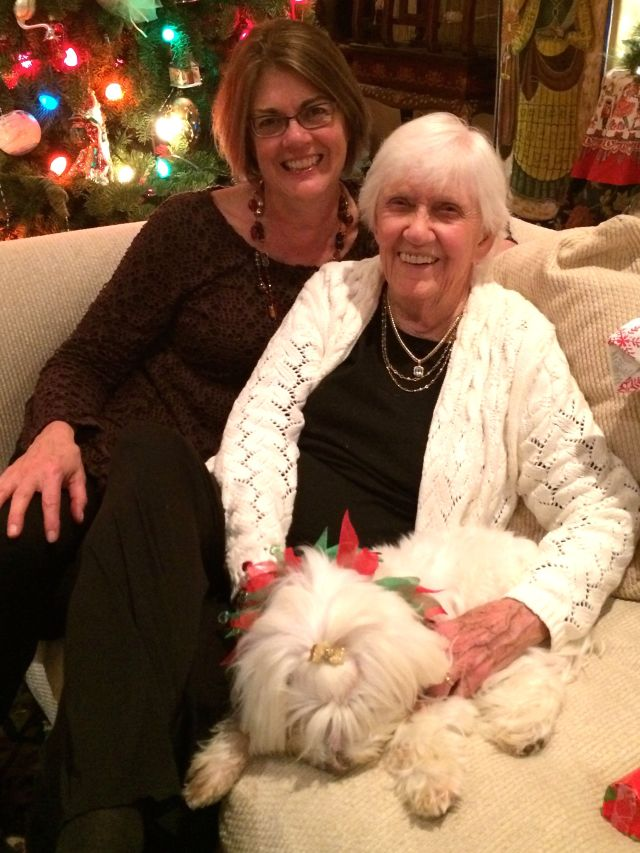 Gail was next to arrive - we are so glad she always comes to SB for Christmas!