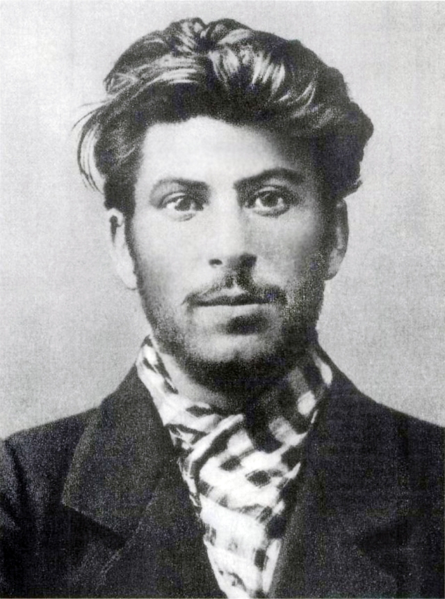A photograph of the young Josef Stalin (wikipedia image)