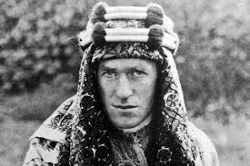 The remarkable and prescient T.E. Lawrence (image from The Daily Beast)