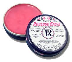 This is the winner! Smith's Rosebud Salve (image from themakeupblogger.com)