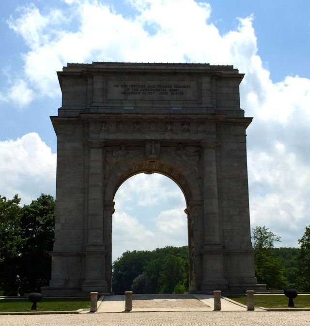 The National Memorial Arch at Valley Forge
