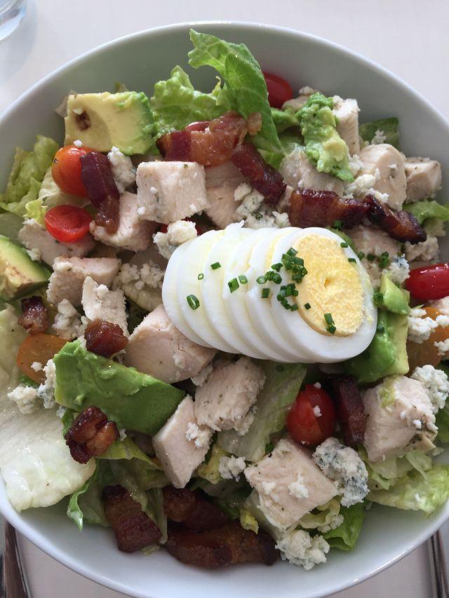 The Cobb Salad at Thomas Keller's Bouchon Bakery & Cafe at the Time-Warner Center.