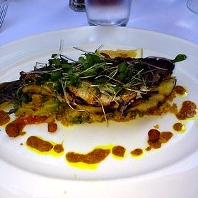 Brasserie Ruhlmann's Grilled Branzino (image from opentable.com)