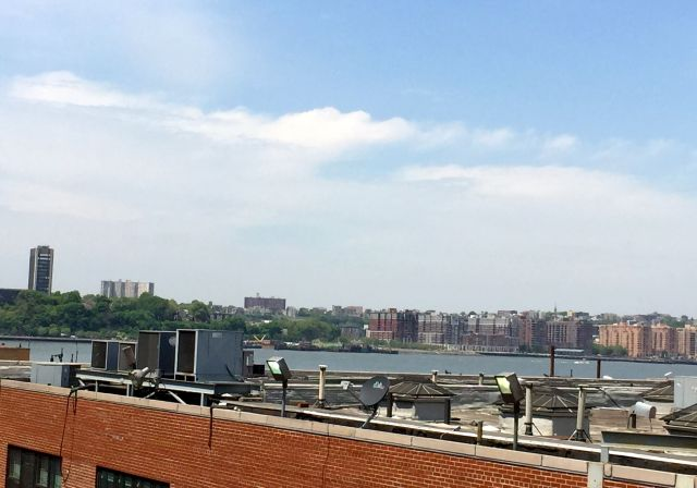 Views of the Hudson River abound along The High Line.
