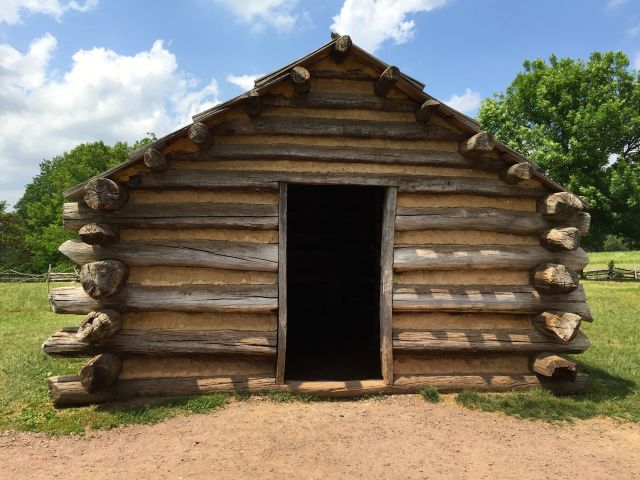 You can step inside a hut just like the ones built by the Continental Army at Valley Forge. (polloplayer photo)