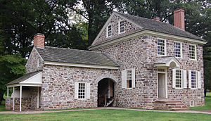 Washington's headquarters at Valley Forge.