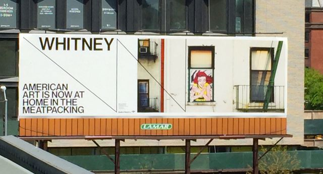 The Whitney Museum opened May 1, 2015 at its new location in the Meatpacking District.