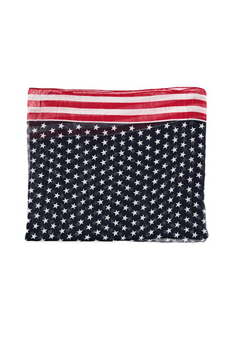 American Flag scarf at Forever 21 is just $8.90