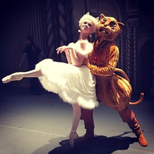 Puss in Boots was one of more than 100 characters in ABT's lavish production of Sleeping Beauty.