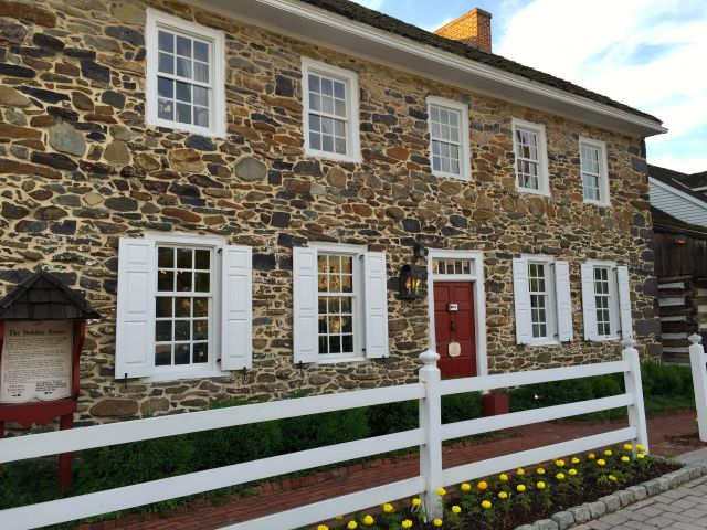 The Dobbin House Tavern in Gettysburg.