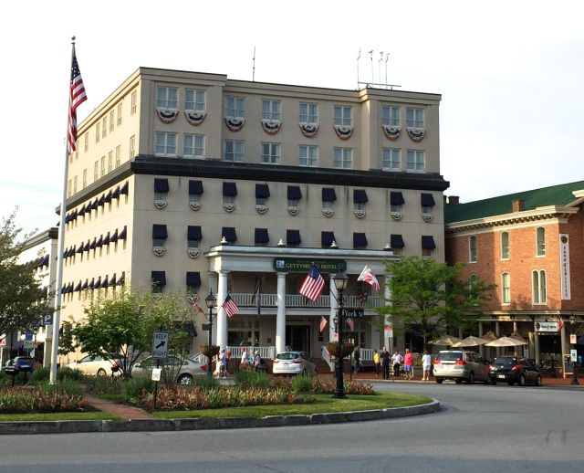 The Gettysburg Hotel on Lincoln Square (polloplayer photo)