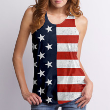 Deconstructed Flag Tank, $20.95, sold on Etsy by GoodieTees