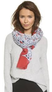 Diane von Furstenberg's Eaden Love scarf