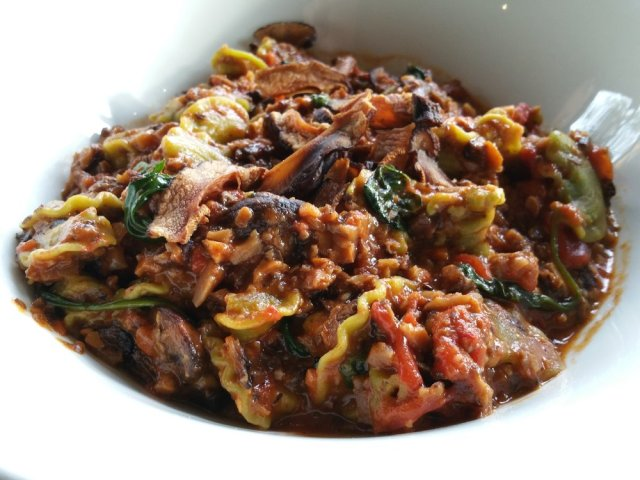 The vegetarian Bolognese at Cucina Enoteca was amazing! (yelp image)