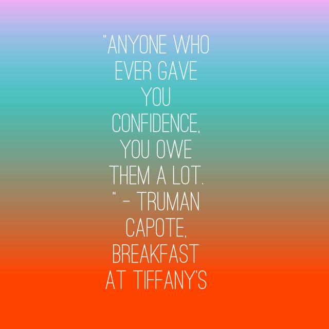confidence tiffanys