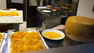 Pasta is made fresh daily at Colline Emiliane.