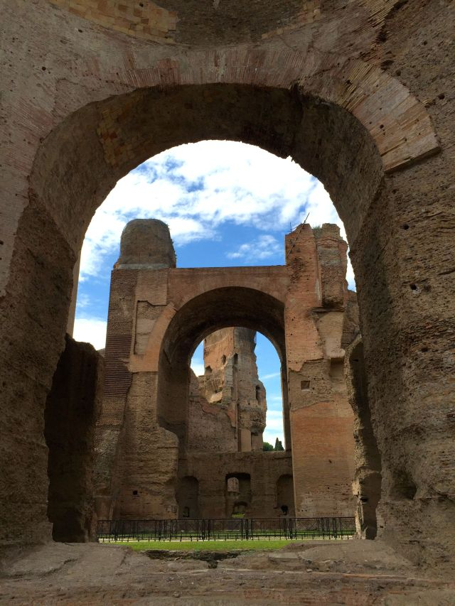 Eerily beautiful, the Baths of Caracalla are well worth a visit.