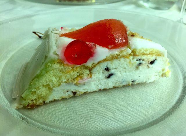 My favorite dessert in Rome: Cassata cake