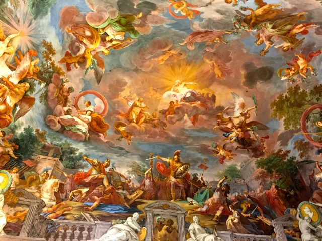 These ceilings alone are worth the trip to Rome.