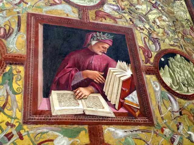 Thank God for Dante, memorialized in the Chapel di San Brizio.