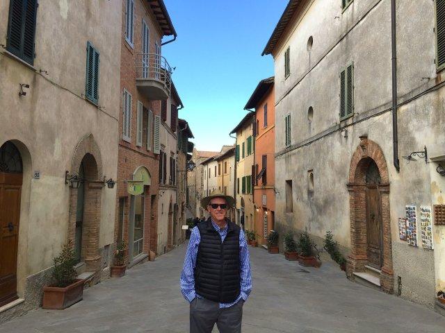 Exploring Montalcino