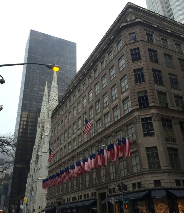 flags saks fifth avenue march 2016